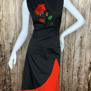 Practice Dresses with Embroidered Flowers